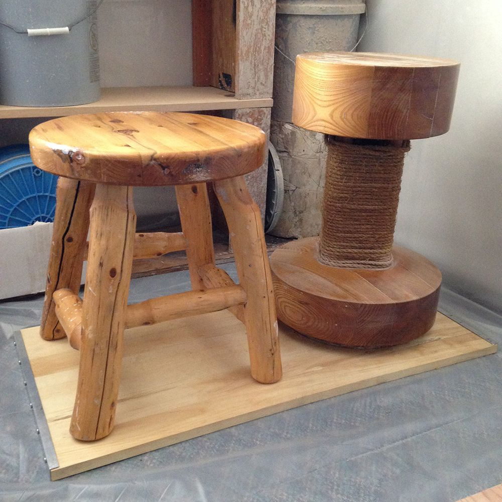 A 20yearold karatsustyle pottery wheel made from maple