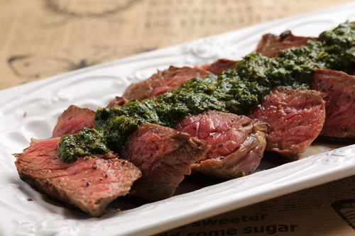 Steak and Chimichurri recipe is perfect for grilling.