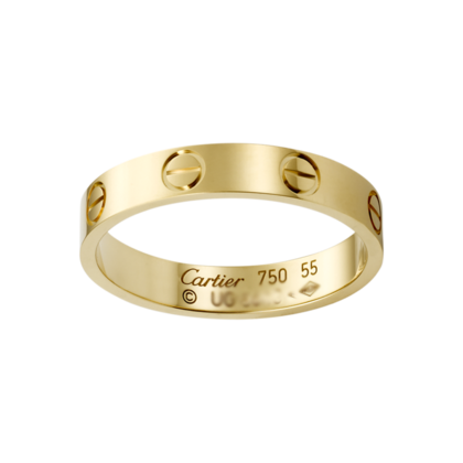 cheapest Cartier Love Rings Yellow Gold No Diamond screw