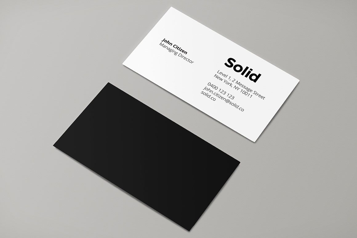 Stationery Template Identity  Solid By Rhett Dashwood On