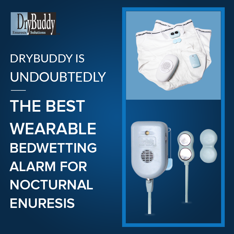 Drybuddy Is Undoubtedly The Best Wearable Bedwetting Alarm For Nocturnal Enuresis Bed Wetting Bedwetting Alarm Bedwetting Advice