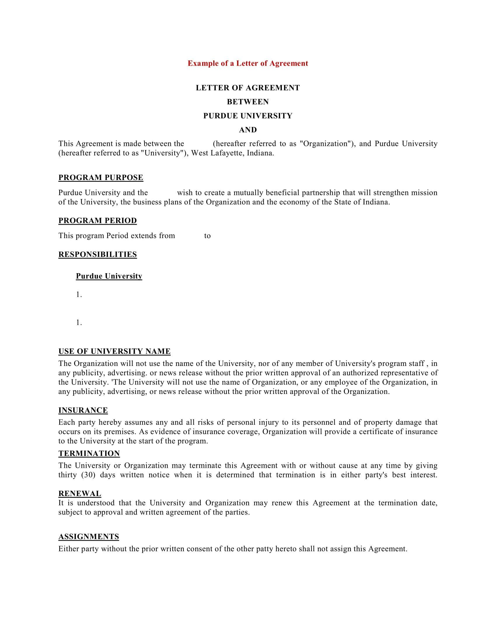 sample of bussiness letters fresh 9 business agreement job resume for freshers pdf best cna career objective cse students