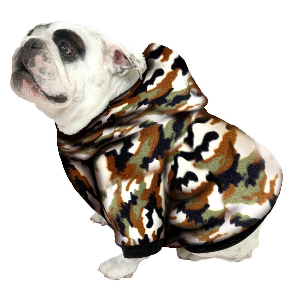 English Bulldog Bigger Than Beefy Hoodie Sweatshirt Fits 56 80