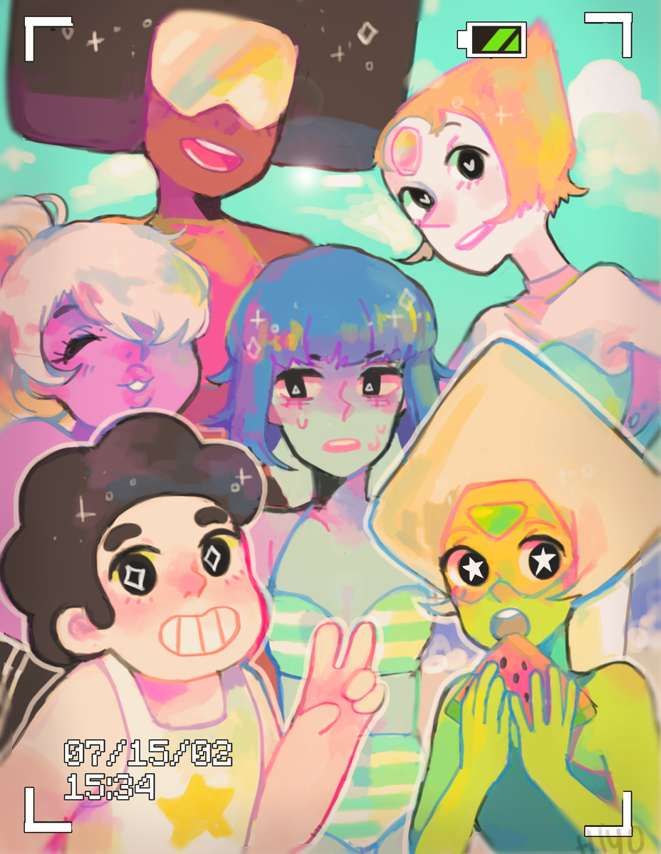 ALL OF THE CRYSTAL GEMS