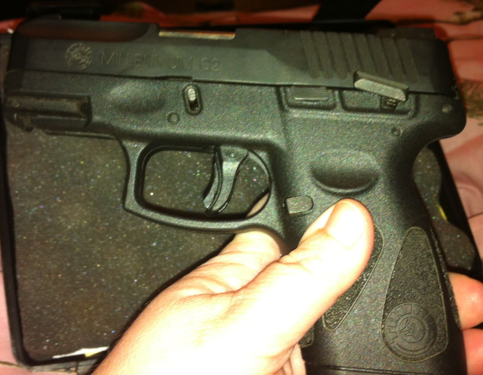 Taurus Millennium G2 Pt111 Gun Review By Kimberly Packin Granny 9mm Schematics Concealed Carry Weapons Guns