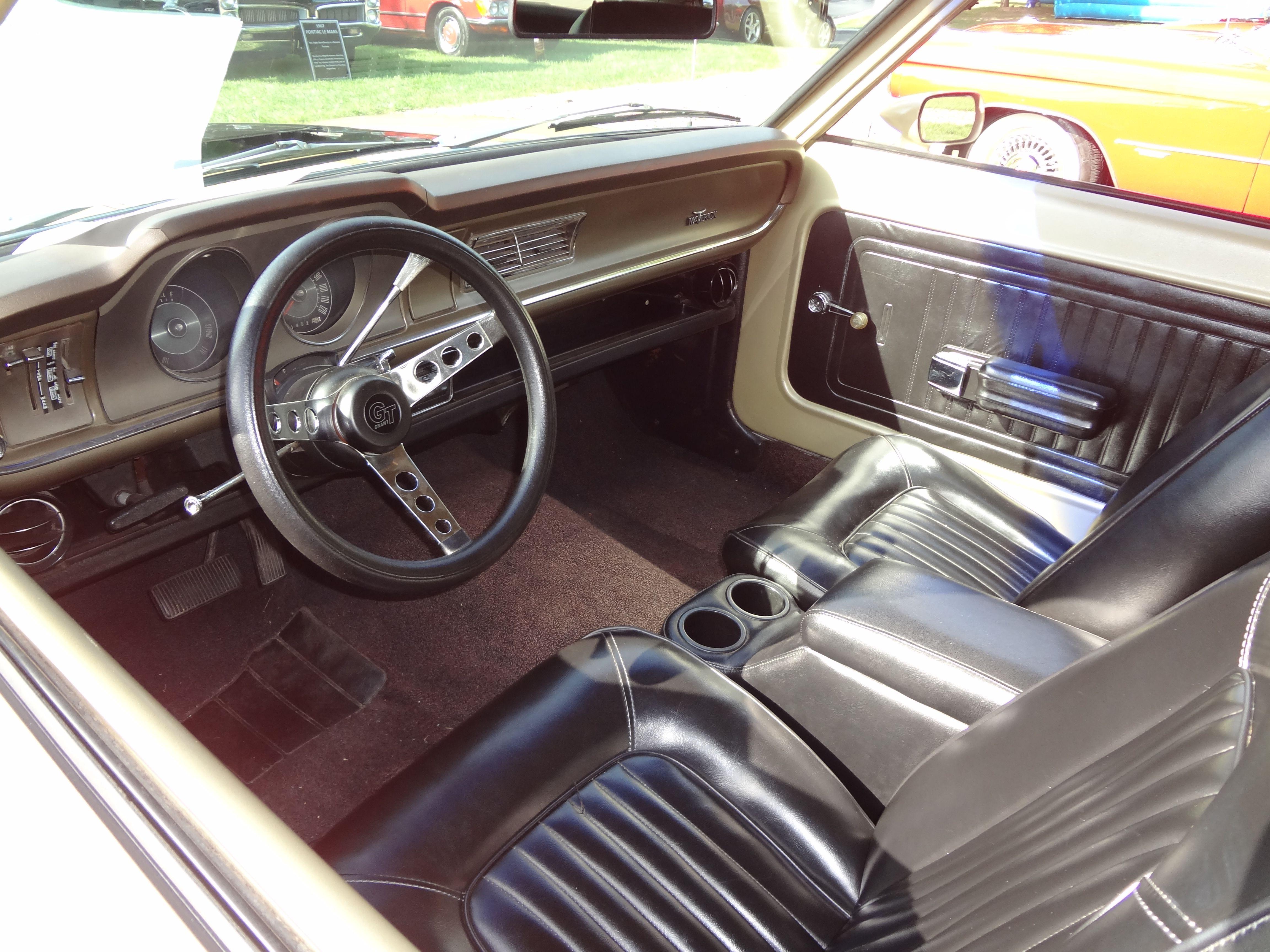 1972 Ford Maverick Interior Carros E Caminhoes Carros