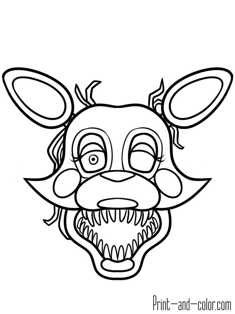 Five Nights at Freddys Coloring Pages Unique Elegant toy ...