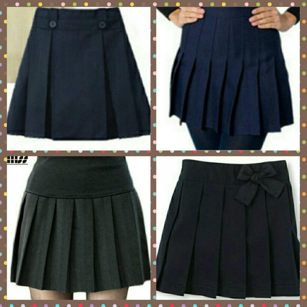 f83da988d Modelos de falda escolar | faldas | Faldas de uniforme escolar ...