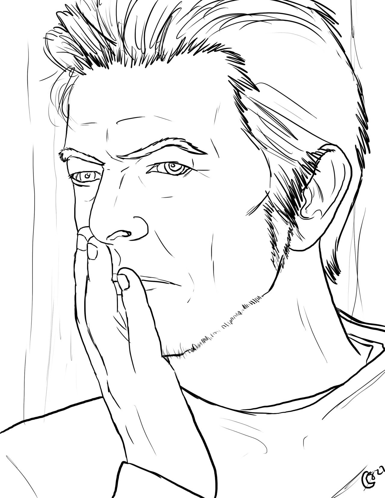 The David Bowie Coloring Book Photo Coloring Books Forest Coloring Book David Bowie