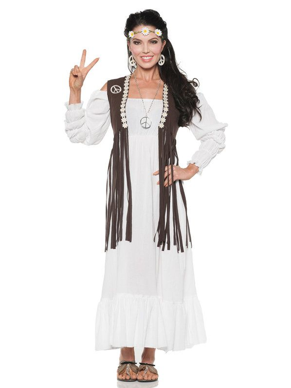 cb97525fe8 Check out 60 s Earth Child Women s Costume - 60 s Womens Costumes from  Wholesale Halloween Costumes