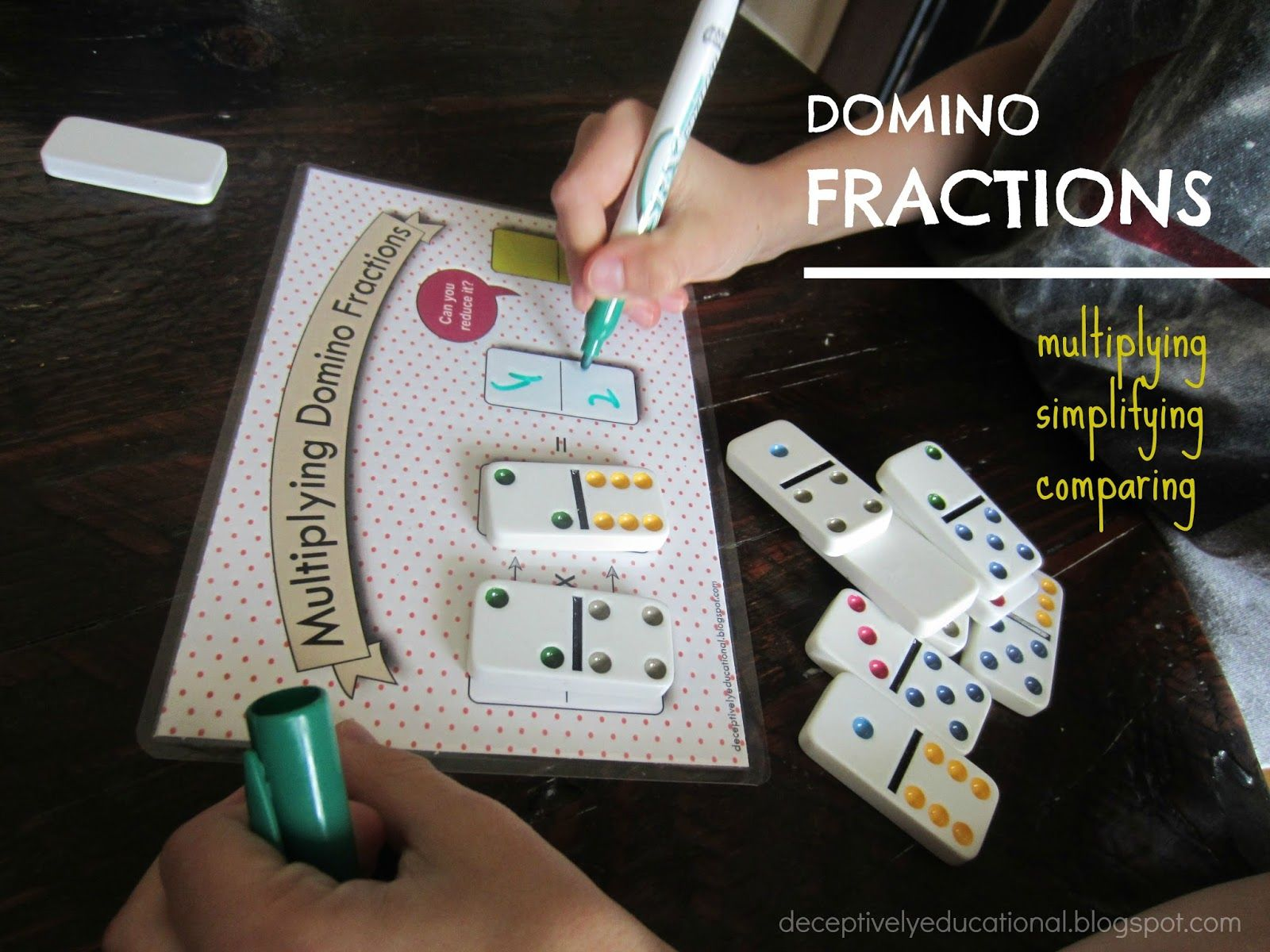 Fractions can be challenging for kids. I thought I\'d see how my 10 ...