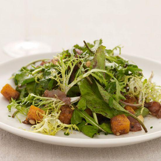 Butternut Squash Salad with Hazelnuts Recipe - Melissa Rubel Jacobson   Food & Wine