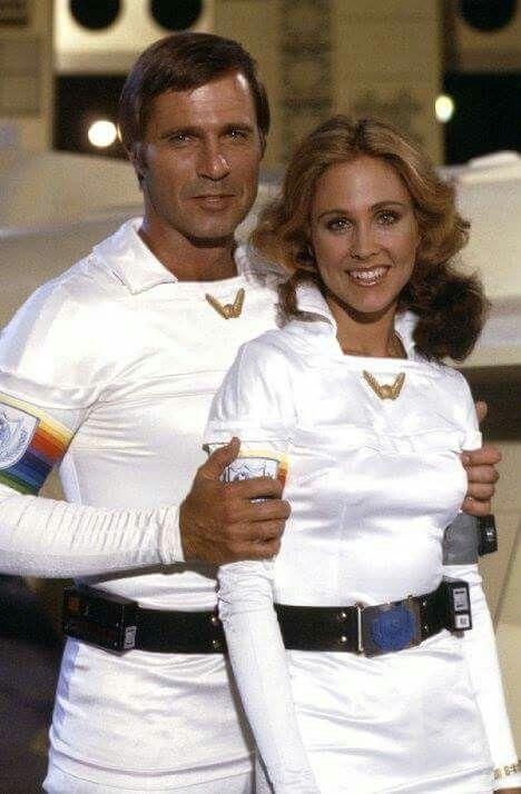 Gil Gerard As Buck Rogers & Erin Gray as Wilma Deering