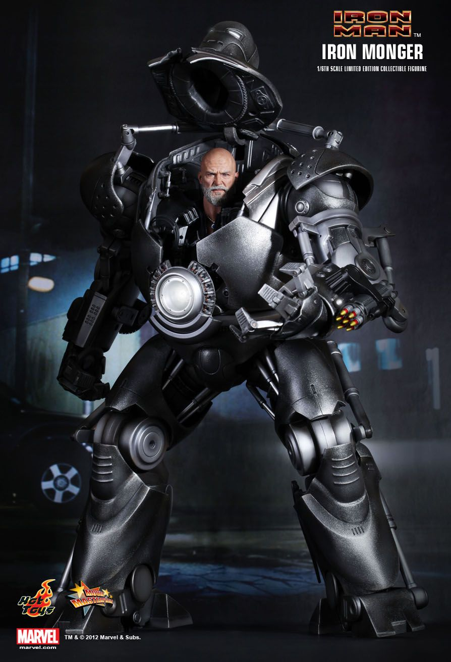 Hot Toys Iron Man Iron Monger 1 6th Scale Limited