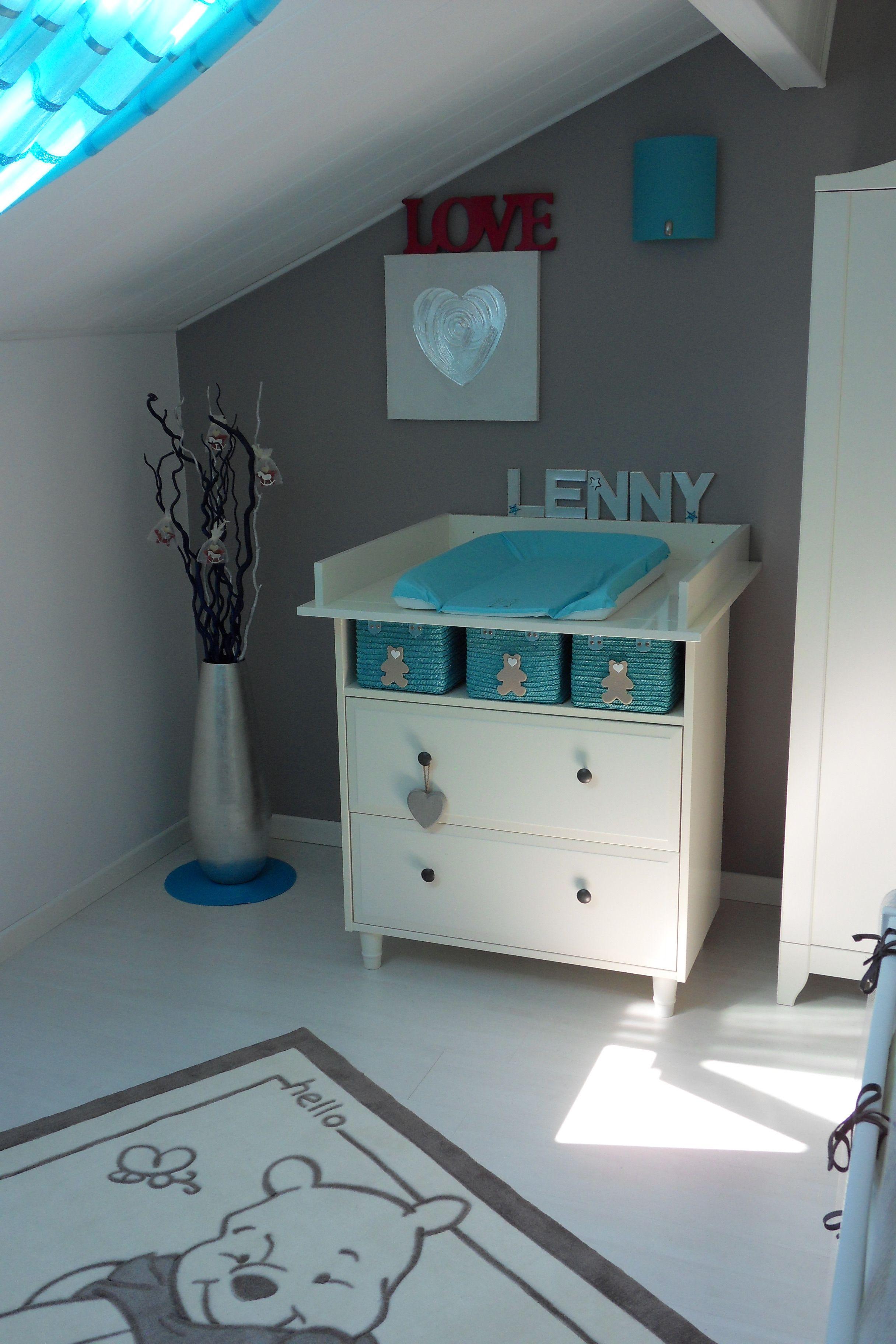 Coin Change (photo /) Table   Langer · Chambre Bebe GrisChambre BleueChambre  ...