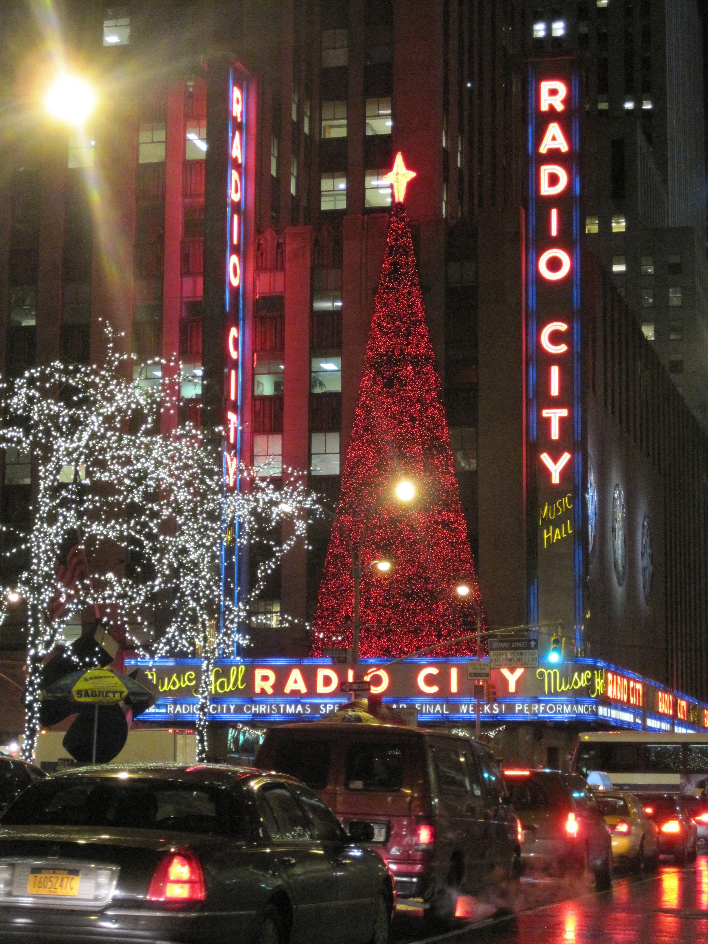 Christmas in NYC - Radio City Music Hall   New york city christmas, Radio city music hall ...