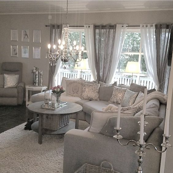 glamorous cottage chic living room ideas | Pin by Jennifer Fleming Lunsford on remodeled in 2019 ...