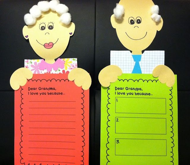 Grandparents Day Craft Ideas For Kids Part - 19: Grandparentu0027s Day Craft Idea For Kids ...