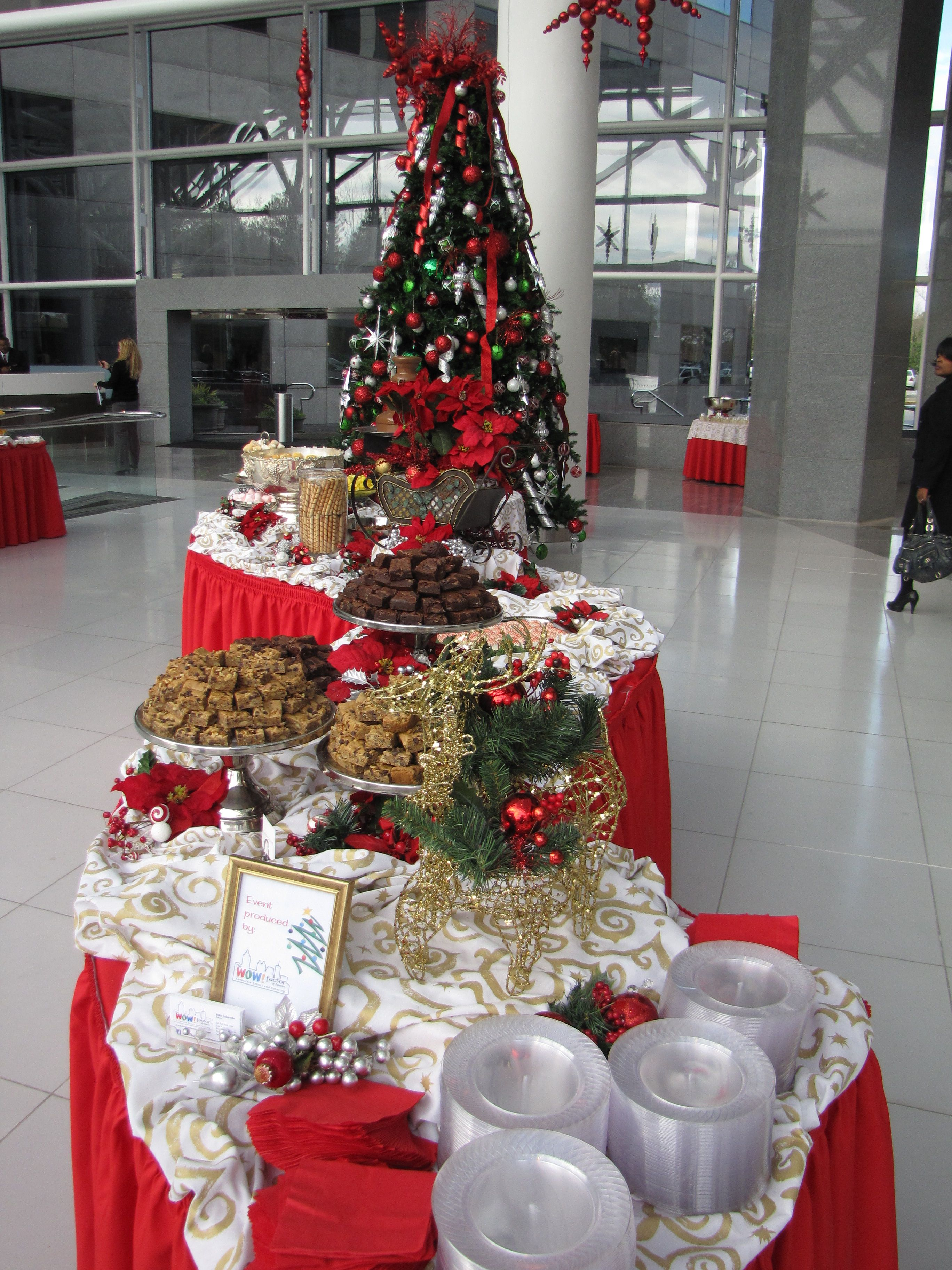 The Wow Factor Of Atlanta Corporate Events Parties Catering Company Christmas Party Xmas Decorations Christmas Open House