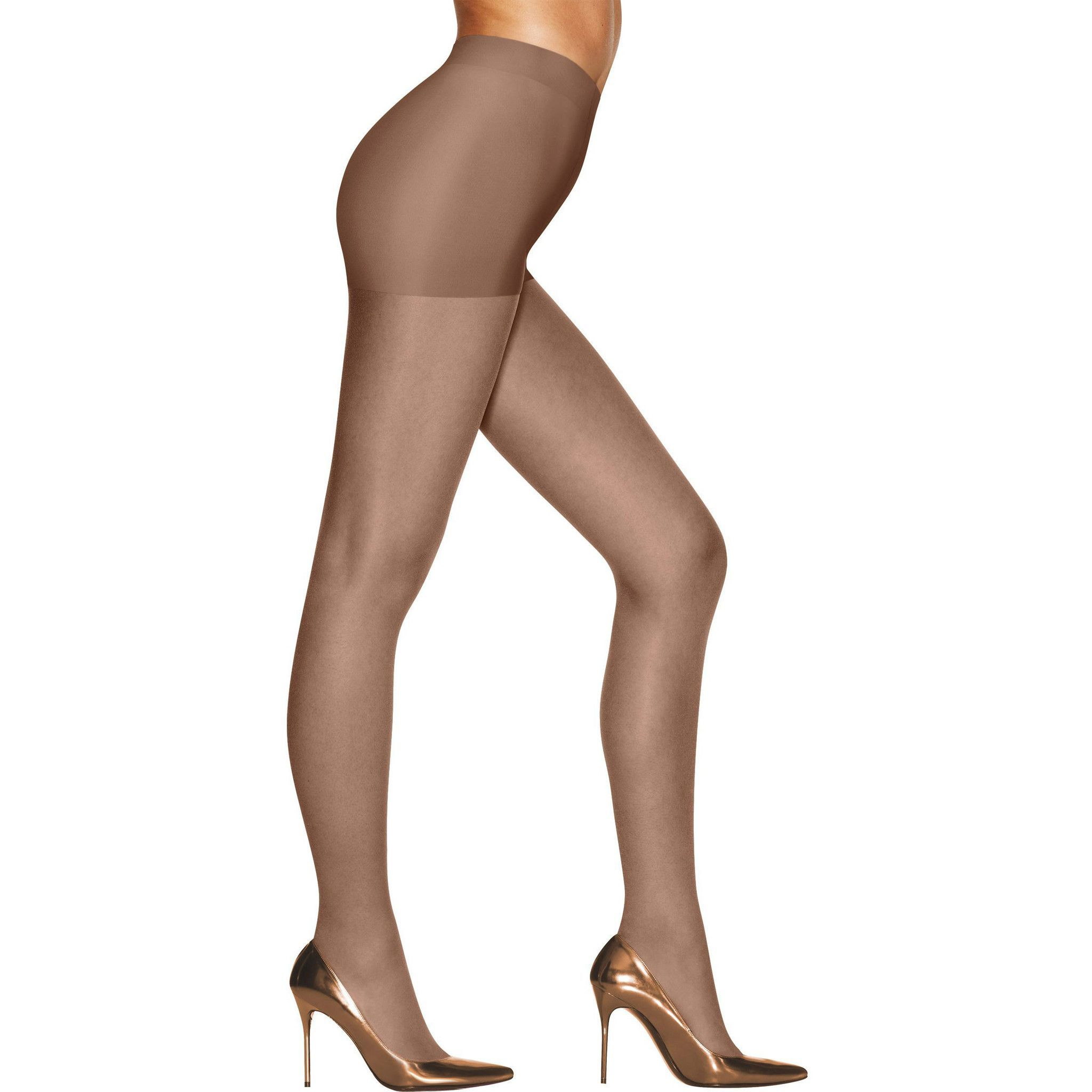 ab4281b415dc Hanes Silk Reflections Sunkissed Ultra Sheer Control Top   Hosiery ...