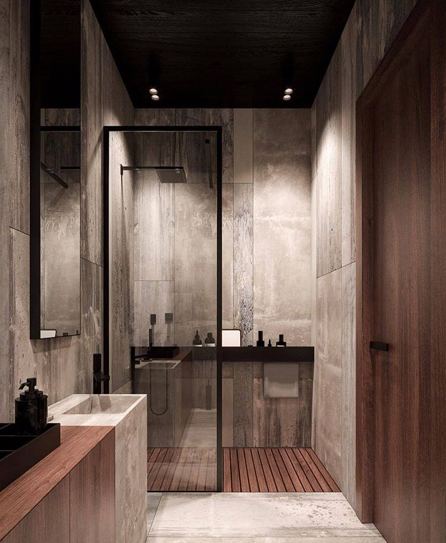 Follow Pureinsides For More What Do You Think Of This Contemporary Bathroom Kleine Badezimmer Inspiration Badezimmer Innenausstattung Bad Inspiration