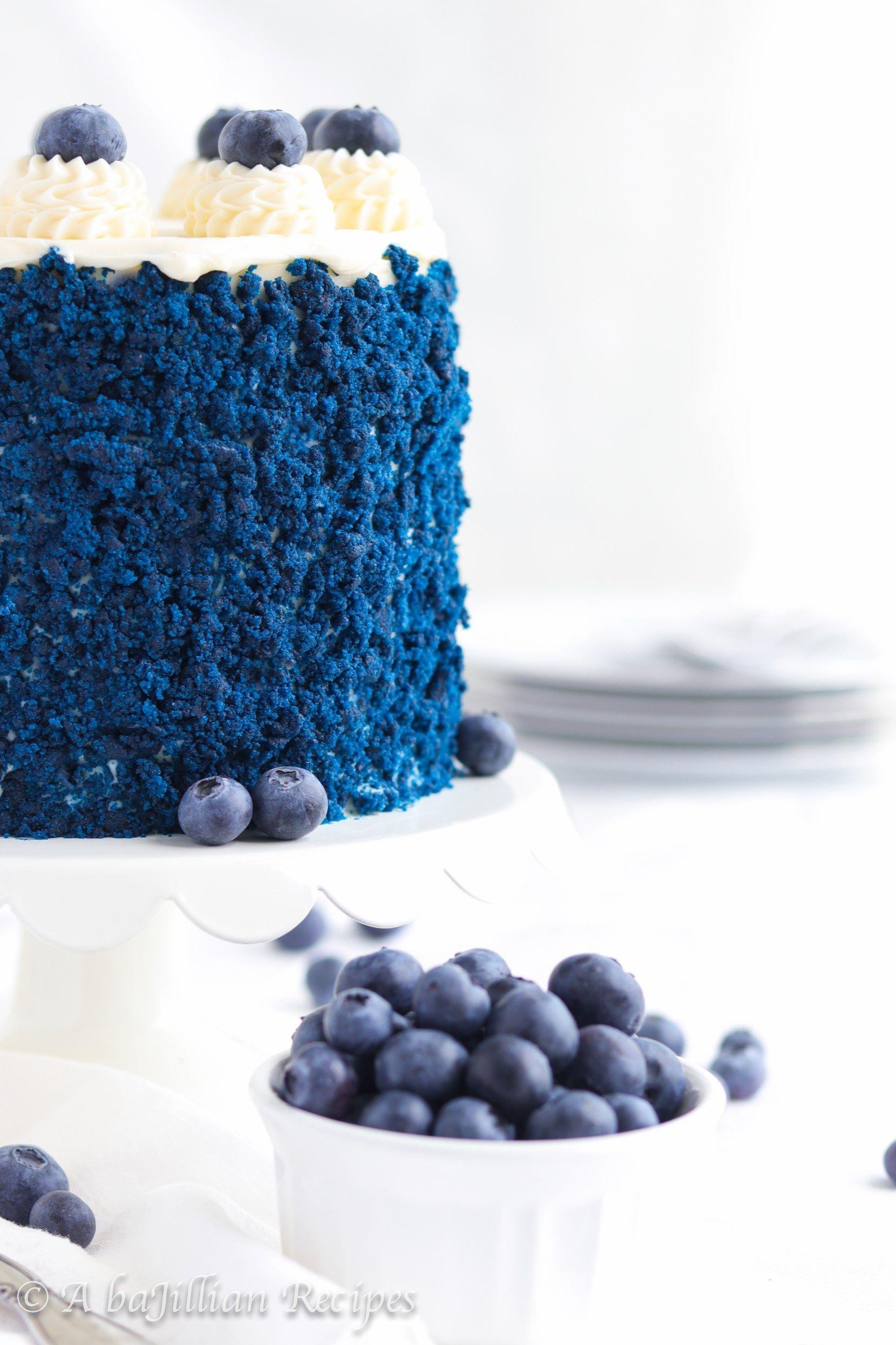 Blue Velvet Cake - A baJillian Recipes