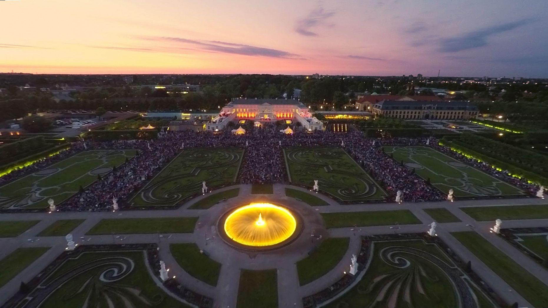 Herrenhauser Garten Veranstaltungen