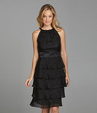 ShopStyle: Evan Picone Tiered Dress