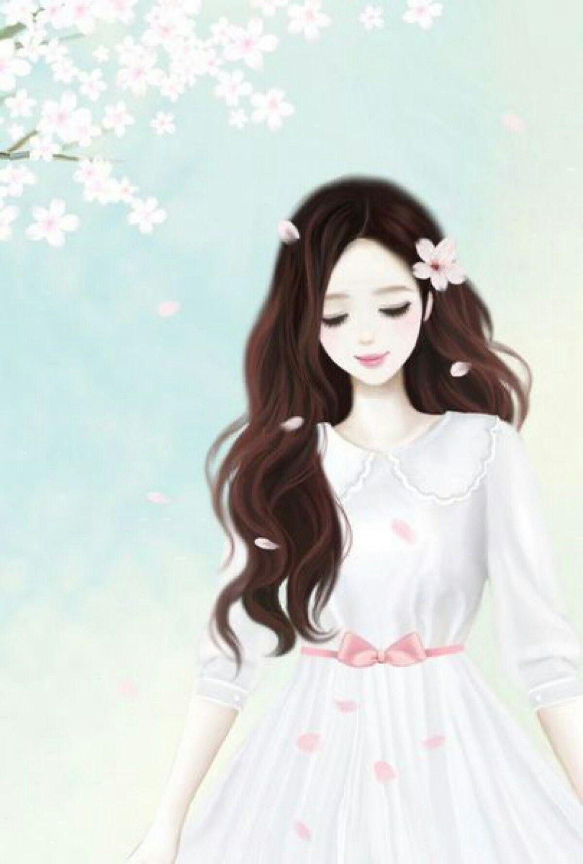Pin oleh Yu Lan di Cartoon di 2019 Anime gadis cantik