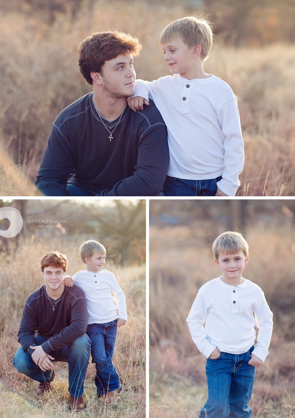 Older & Younger sib family poses - Arden Prucha Photography, ardenprucha.com