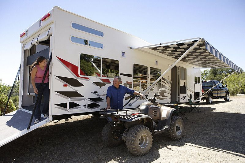 The sport utility RV, or SURV, is for the active family