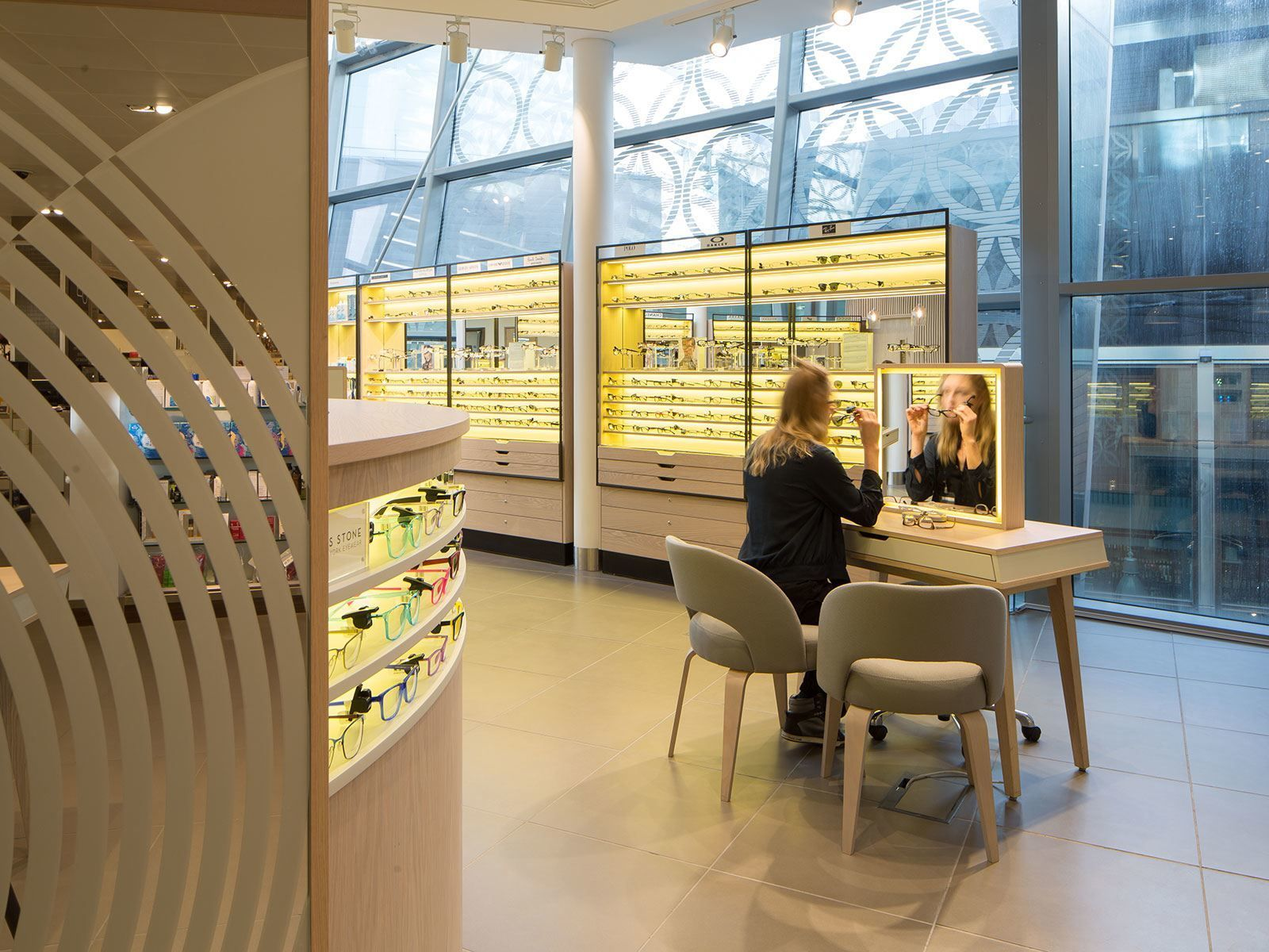 224e026e2c John Lewis Opticians - store concept designed by Household