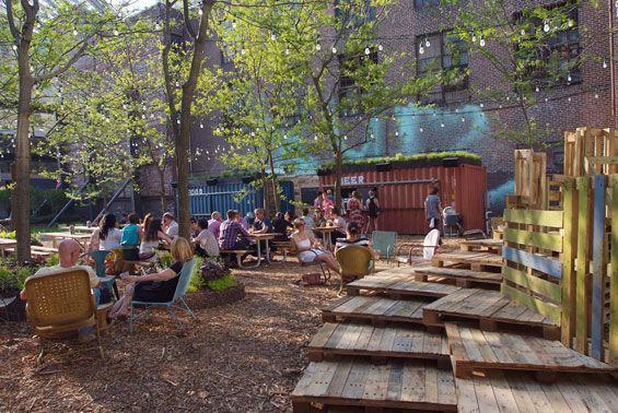 Pop Up Beer Garden Philadelphia Usa Groundswell Design Group