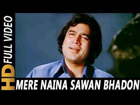 Mere Naina Sawan Bhadon Kishore Kumar Mehbooba 1976 Songs Rajesh Khanna Hema Malini Youtub Kishore Kumar Songs Lata Mangeshkar Songs Old Song Download