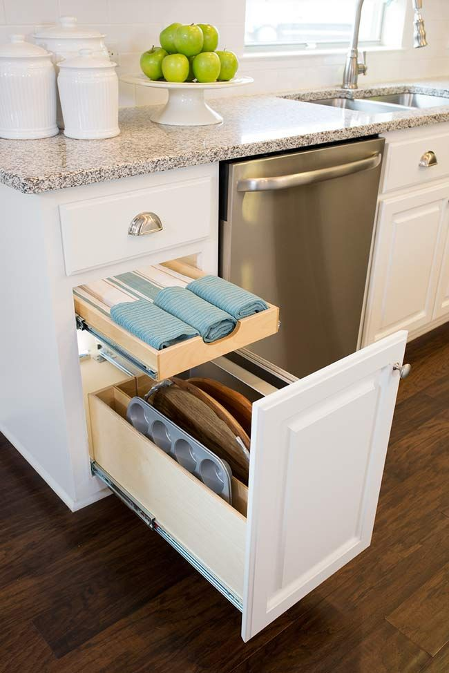 Kitchen Pull Out Shelves & Custom Shelves @ ShelfGenie ...
