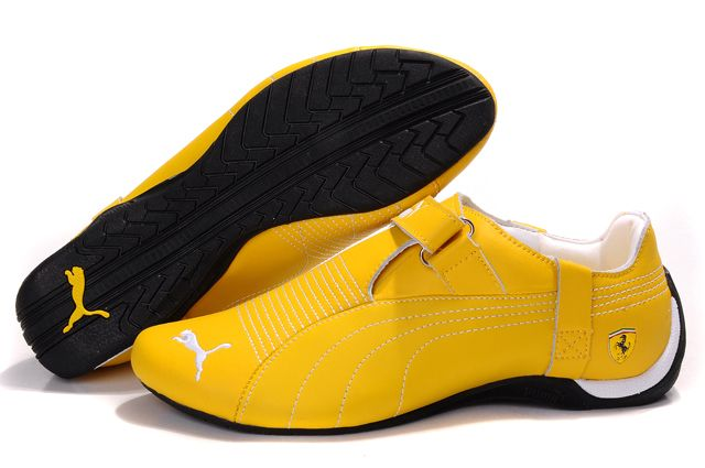 Mens Puma Trionfo Low Baylee in Yellow/Whiteshop pumapuma sneakers saleQuality Design