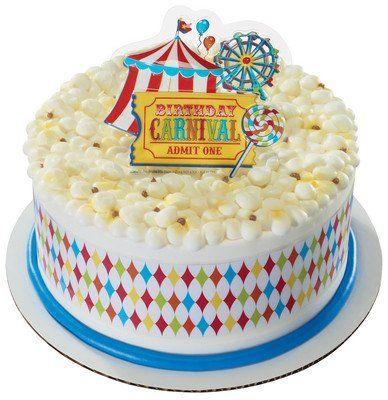 Carnival Birthday Designer Cake Topper NEW Carnival