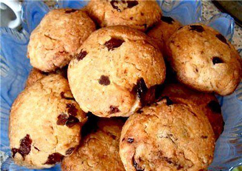 Печенье с кефиром и маргарином