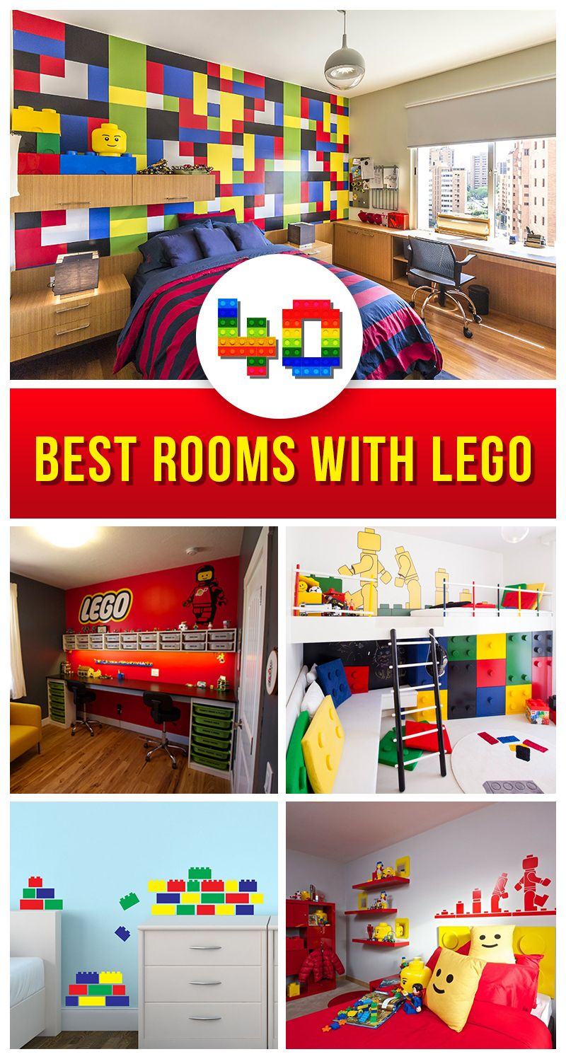 40+ Beste LEGO Zimmer Designs für 2018 | Lego room, Lego and Room