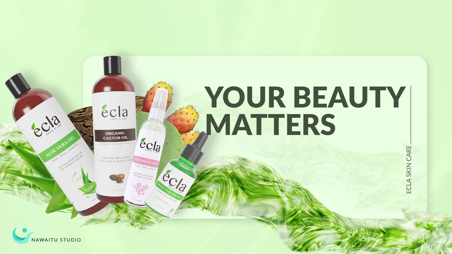 Ecla Skin Care Banner Ads Banner Webbanner Eclaskincare Skincare Productads Productbanner Fiverr Graphicdesign Banner Bu Banner Ads Skin Cure Banner