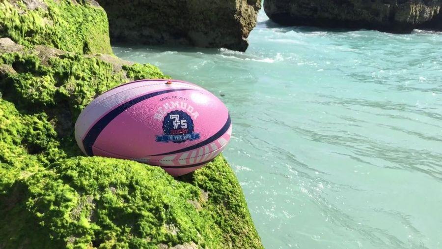 Bermuda Intl 7s Custom Gear Rugby balls, Event marketing