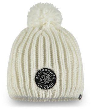 c9856903e45f39 Authentic Nhl Headwear Women's Chicago Blackhawks Winter Classic Knit Hat -  White Adjustable
