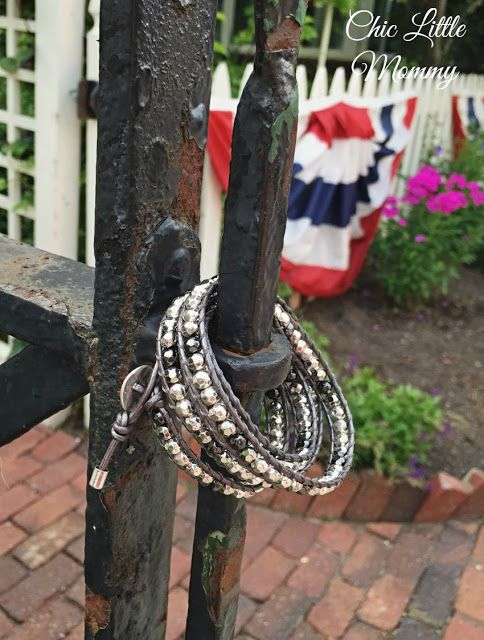 It's a Wrap bracelet, silver, premier designs. Chic Little Mommy
