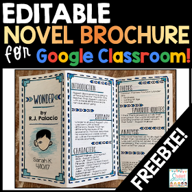 Fun Ideas and Activities for Novel Studies + a GIVEAWAY! is part of Google classroom, Google classroom elementary, Middle school reading, Reading classroom, Classroom freebies, Middle school classroom - Find the latest teaching resources and ideas for the elementary and middle school classroom  Interactive notebooks, classroom management, and more