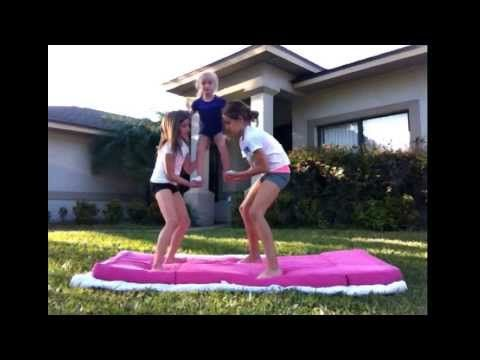 really cool cheer stunts for beginners 2  youtube with