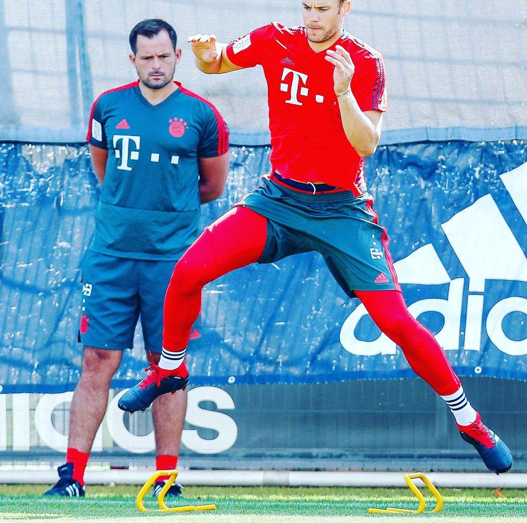 Pin By Lujain Kanaya On Manuel Neuer Instagram Training Manuel Neuer Sports Jersey