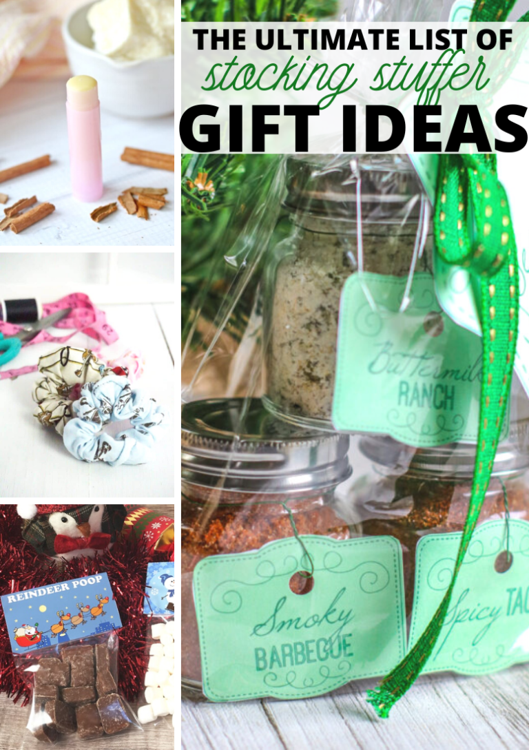 The Ultimate List of Stocking Stuffer Gift Ideas - Title Free Mom #stockingstuffers The Ultimate List of Stocking Stuffer Gift Ideas - Title Free Mom #stockingstuffersformen