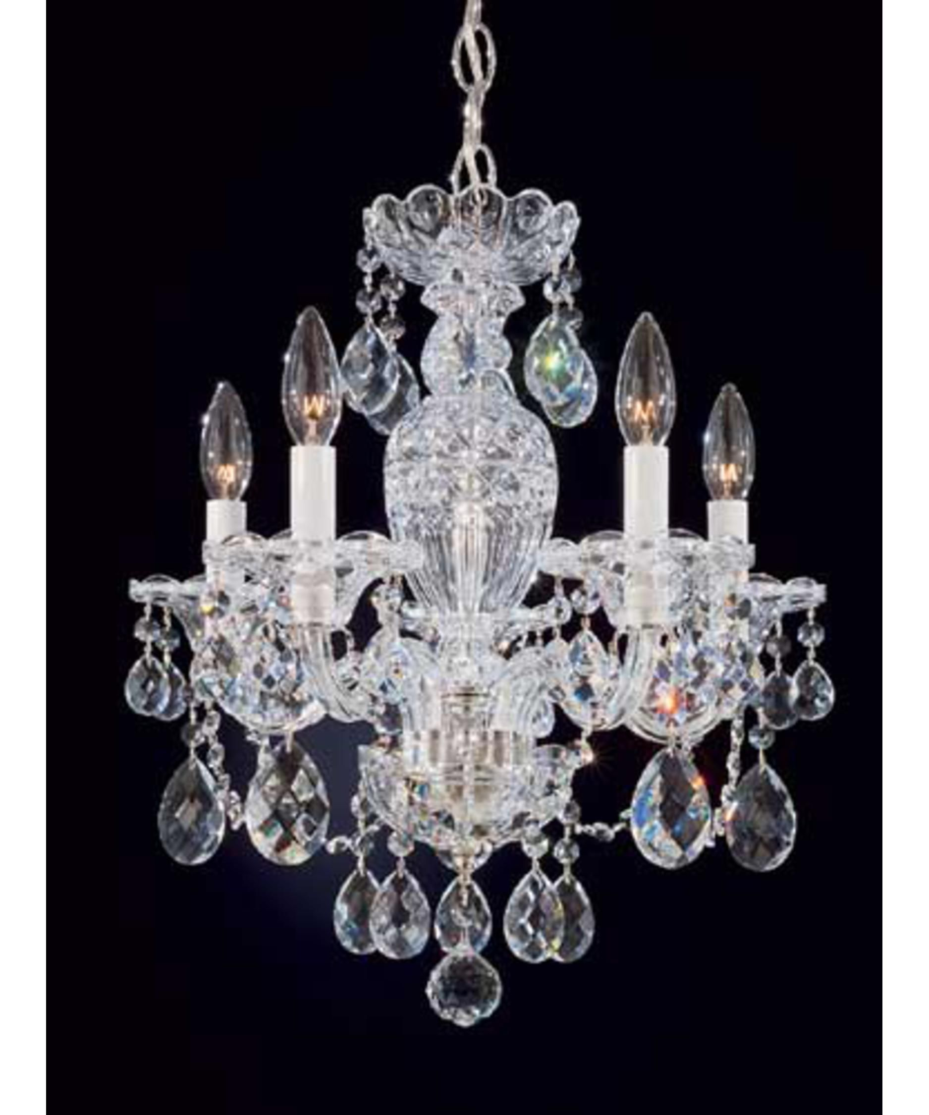 Chandelier for the girls bath tub room new house pinterest with its luxurious shine the schonbek sterling collection wide crystal chandelier brings old world grandeur uses five maximum 60 watt candelabra bulbs arubaitofo Image collections
