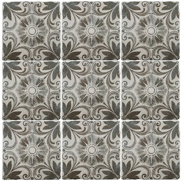 Tiles And Decor Somertile 775X775Inch Gavras Cendra D Cor Dahlia Ceramic Floor