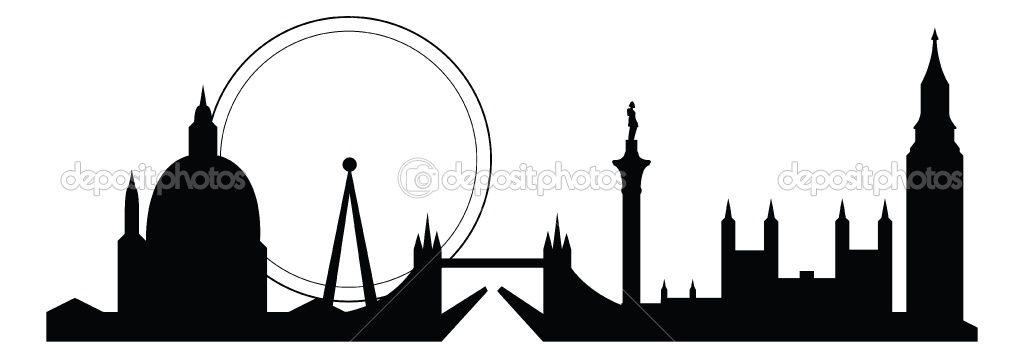 London Skyline Silhouette Item 4